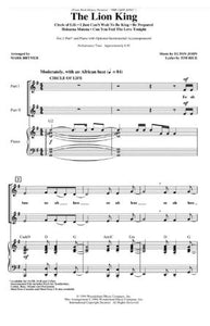 The Lion King Medley 2-Part - arr. Mark Brymer