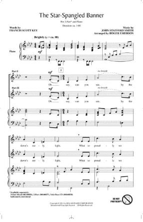 The Star-Spangled Banner 2-Part - arr. Roger Emerson