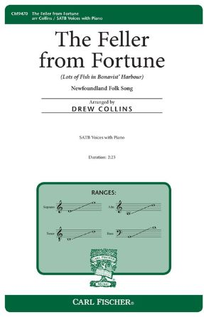 The Feller From Fortune SATB - Arr. Drew Collins