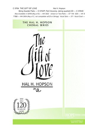 The Gift Of Love SAB - Arr. Hal H. Hopson