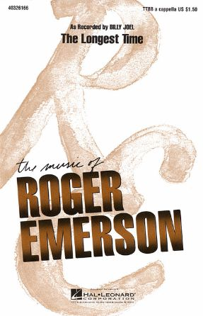 The Longest Time TTBB - arr. Roger Emerson