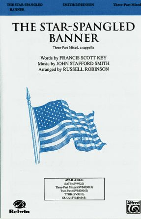 The Star-Spangled Banner 3-Part Mixed - Arr. Russell Robinson