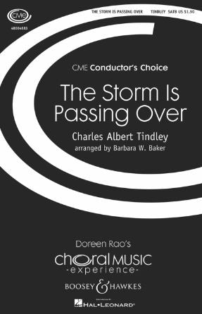 The Storm Is Passing Over SATB - Arr. Barbara W. Baker