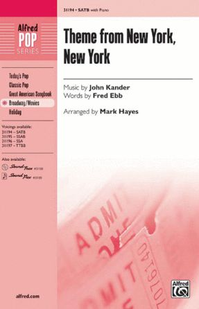 Theme From New York, New York SATB - Arr. Mark Hayes