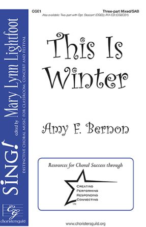 This Is Winter SAB - Amy F. Bernon