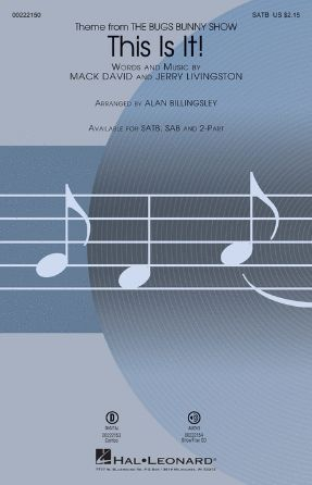 This Is It! SATB - Arr. Alan Billingsley