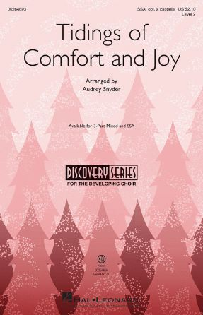 Tidings Of Comfort And Joy SSA - Arr. Audrey Snyder