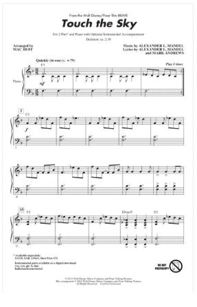 Touch The Sky 2-Part - Arr. Mac Huff