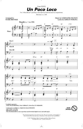 Un Poco Loco 3-Part Mixed - Arr. Mark Brymer