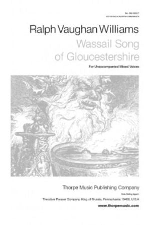 Wassail Song SATB - Ralph Vaughan Williams