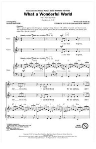 What a Wonderful World 2-Part - Arr. Mark Brymer