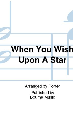 When You Wish Upon A Star SATB - Arr. Steven Porter