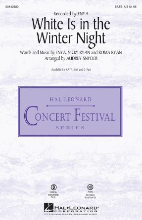 White Is In the Winter Night SATB - Audrey Snyder