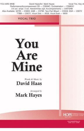 You Are Mine SATB - Arr. Mark Hayes