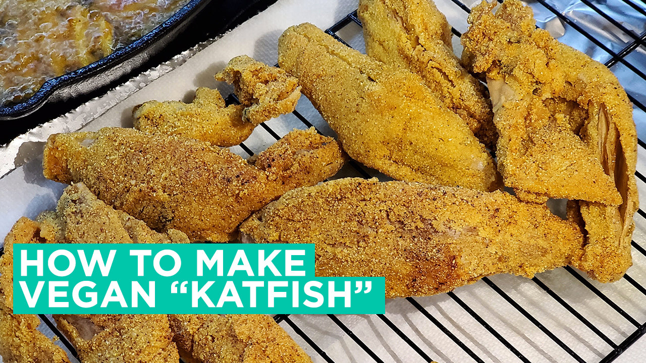 The secret to vegan fried catfish | Vegan Seafood Recipe