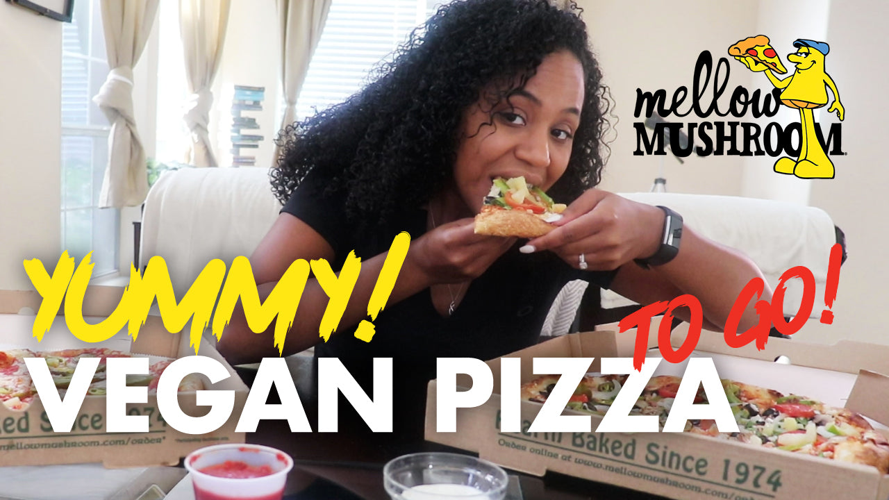 Vegan Pizza - Mellow Mushroom - Dallas Vegan Food