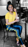 Fineapple Script Leggings