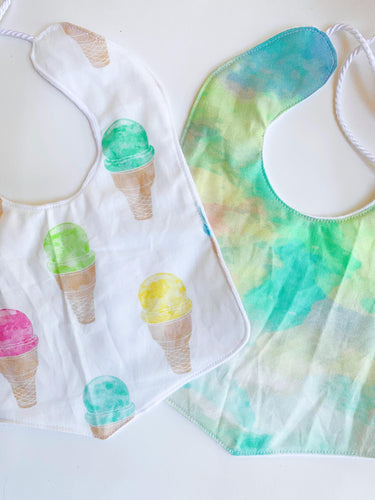 Pastel rainbow ice cream
