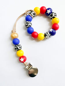Woody Ring Teether + Clip