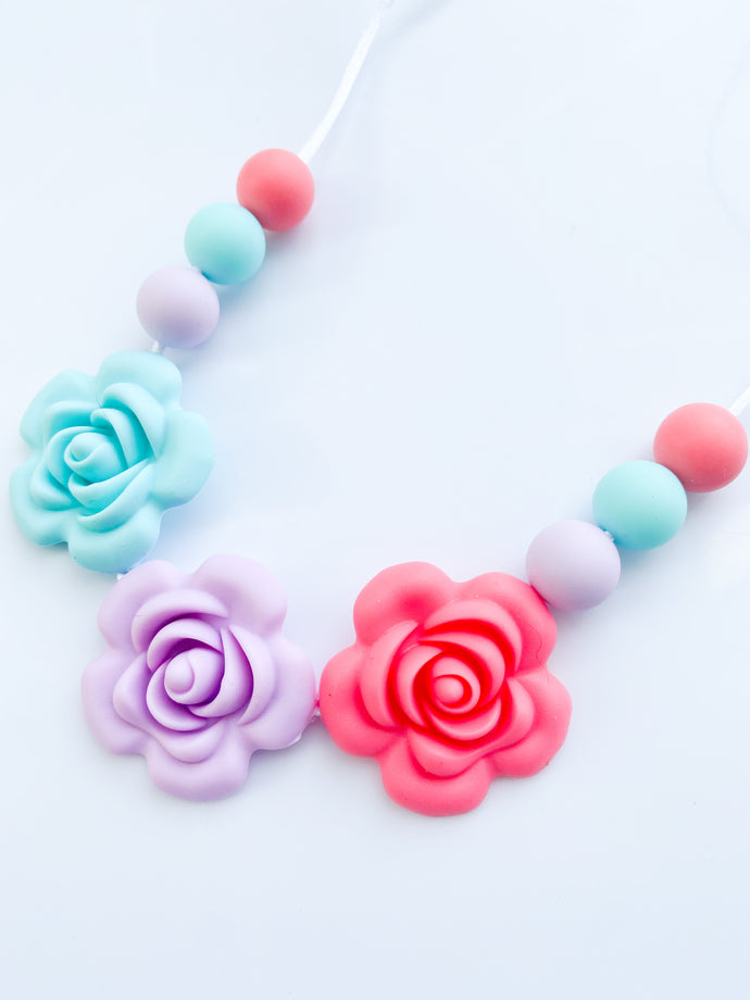 RTS Necklace, Spring Flowers