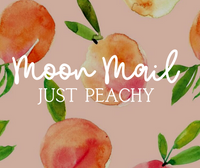 March Moon Mail • Just Peachy