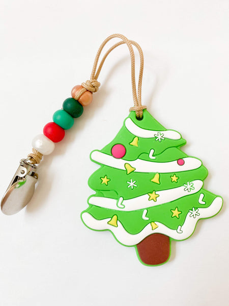 RTS Holiday: Tree Teether + Mini Clip