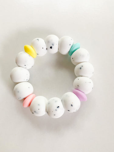 RTS Pride Ring Teether, Speckle