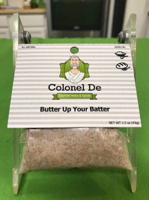"Butter Up Your Batter Sugar 3 X 3 "" package"