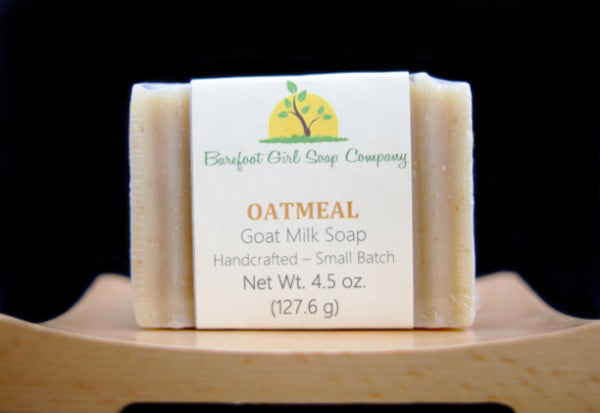 Oatmeal (Unscented) Goat Milk Soap