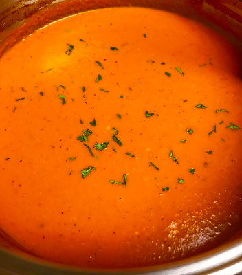 Creamy Fresh Tomato Pesto Basil Soup 16 oz
