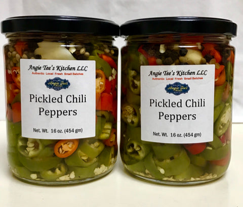 Pickled Chili Peppers - Extra Spicy 16 oz
