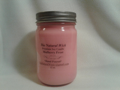 Mulberry Frost (12oz. Soy Candle)