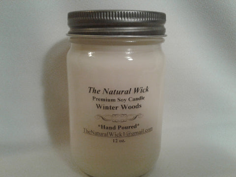 Winter Woods  (12oz. Soy Candle)