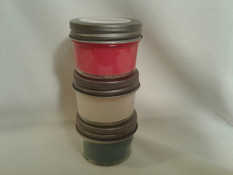 Holiday Trio (3 Holiday 4oz Soy Candles)