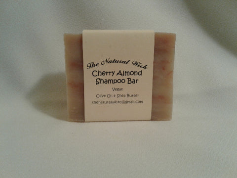 Almond/Cherry Shampoo Bar
