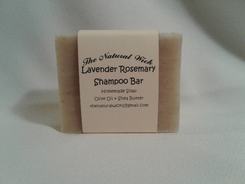 Lavender Rosemary Shampoo Bar