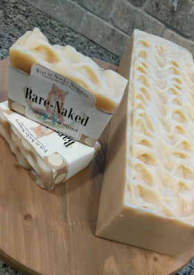 BareNaked Unscented Omega-3 Enriched Milk and Honey Soap