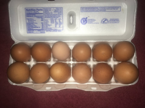 Fresh Brown Eggs