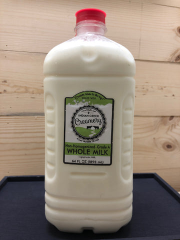 Whole Milk - Non-homogenized