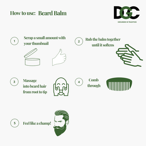 Beard Balm - How to guide