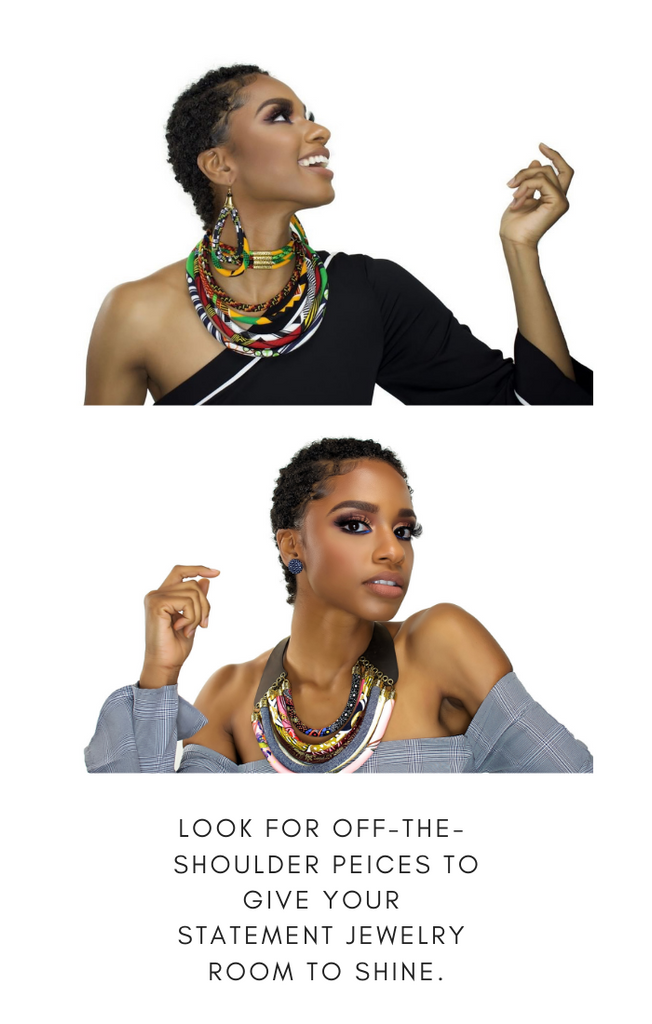 When & Wear x Cloth & Cord-African Bib Necklace