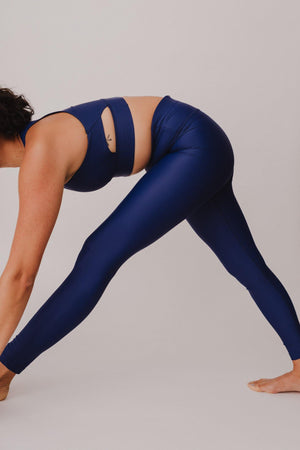 BESONNEN Walk Free Leggings - Color:Blau