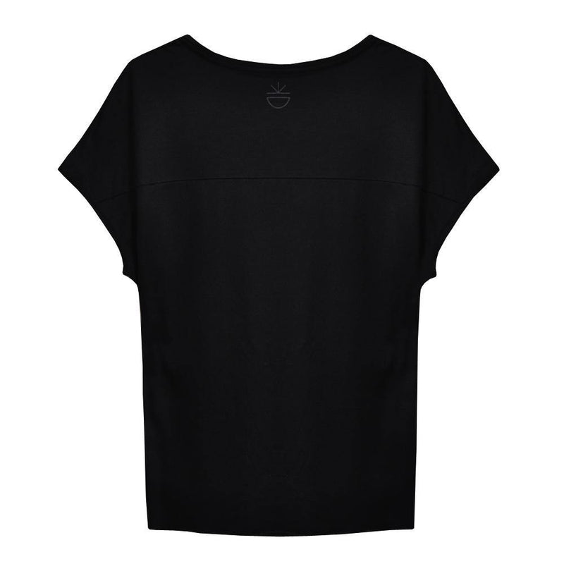 NEW COLOURS Four Reasons T-Shirt - BESONNEN mindful fashion sustainable - Color:Schwarz