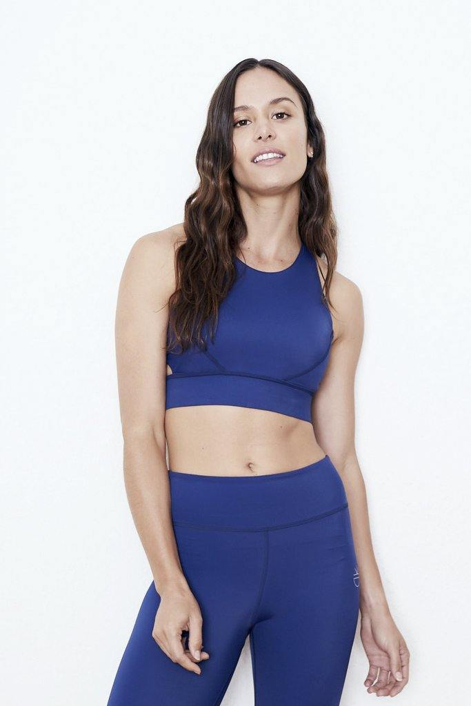 Ready SET! Go - SMW Bra WF Leggings color:Blau