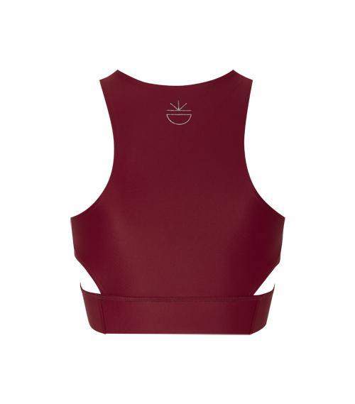 NEW Shape My World Bustier - BESONNEN mindful fashion sustainable - Color:Rot