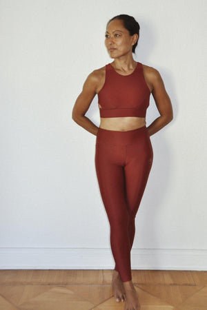 Ready SET! Go - SMW Bra WF Leggings color:Rot
