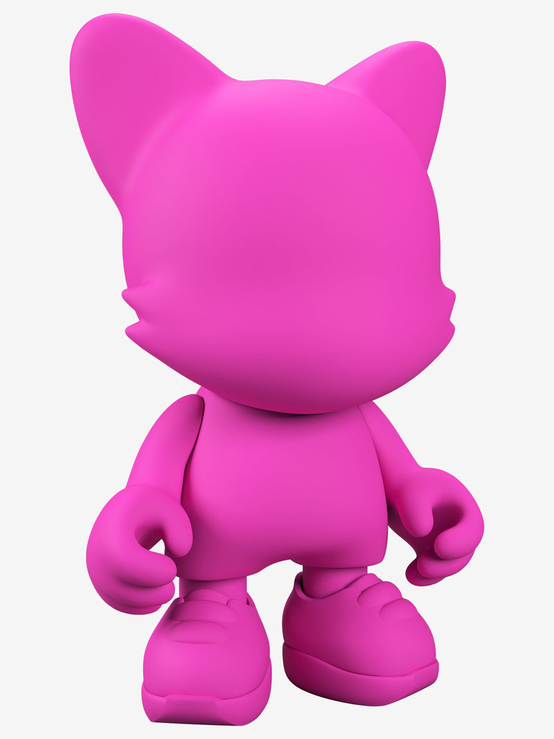 "PINK UBERJANKY 15"" INCHES - RedGuardian Art & Toys"