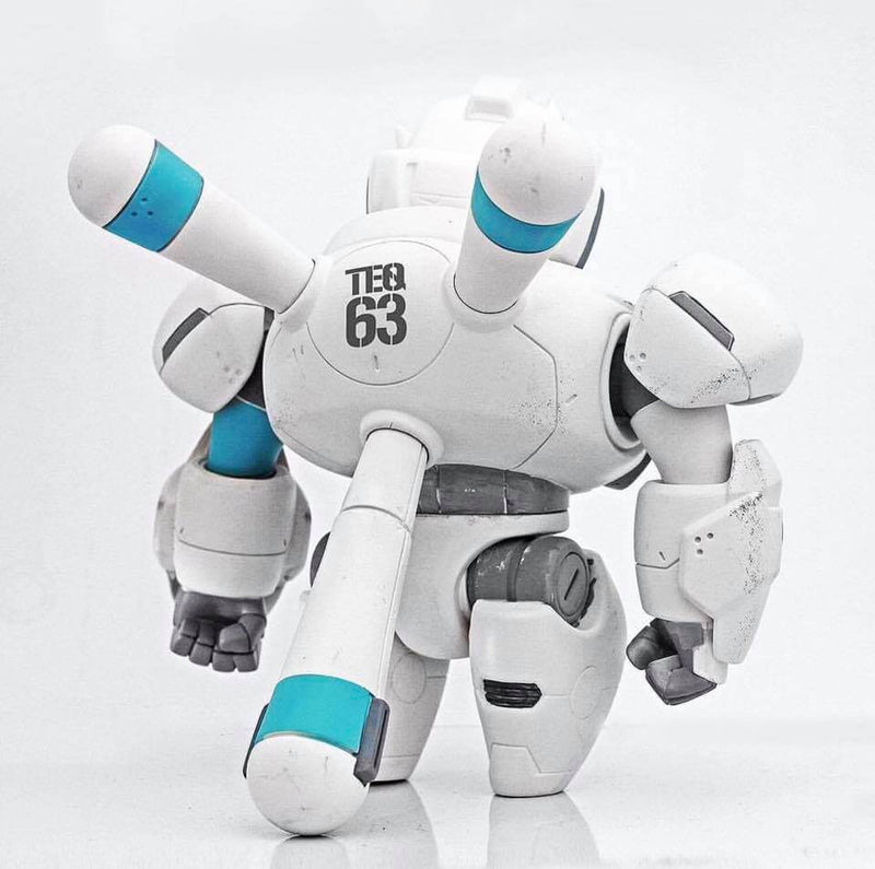 NANO TEQ NUTBUSTER GHOST WHITE By Quiccs x Devil Toys