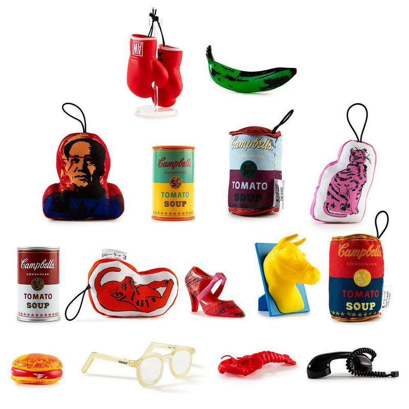 Andy Warhol Soup Can Series 2 Blind Box (Can) Mini-Figure