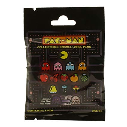 Pac-Man 8-Bit Enamel Pin Collection